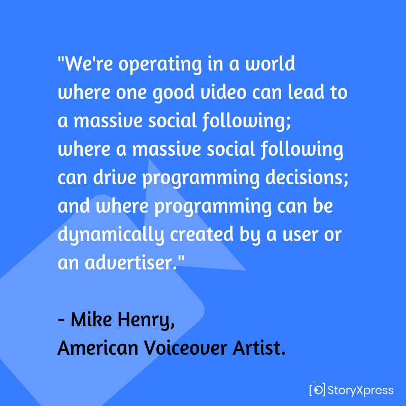 Quote by Mike Henry, American Voiceover Artist