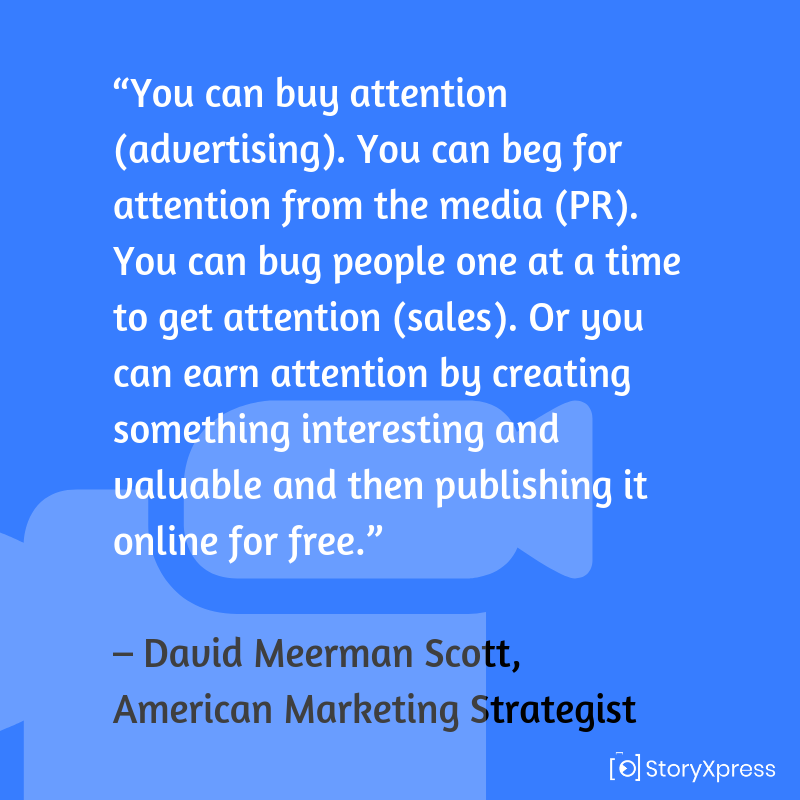 Quote by David Meerman Scott, American Marketing Strategist