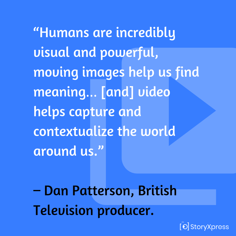 Qoute by Dan Patterson, British Television producer