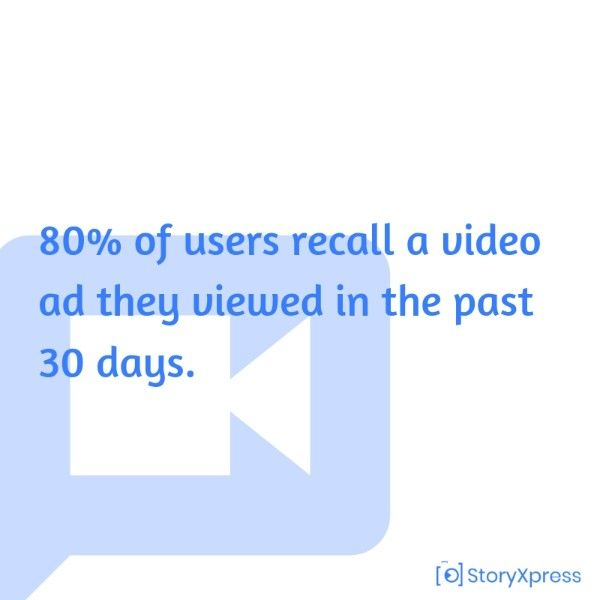 Video information can be remembered for a long time
