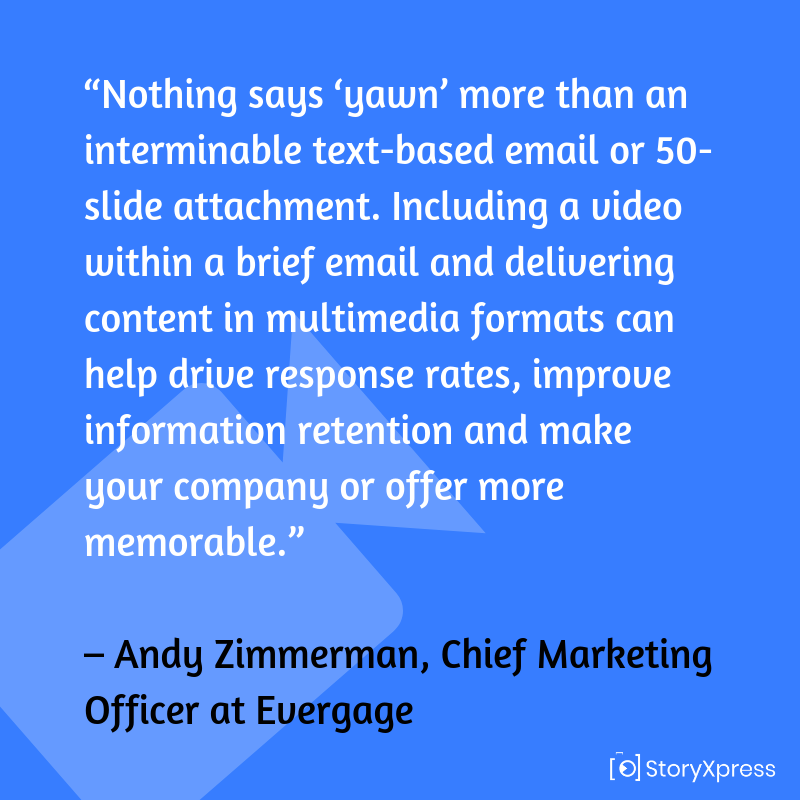 Quote by Andy Zimmerman, Chief Marketing Officer at Evergage