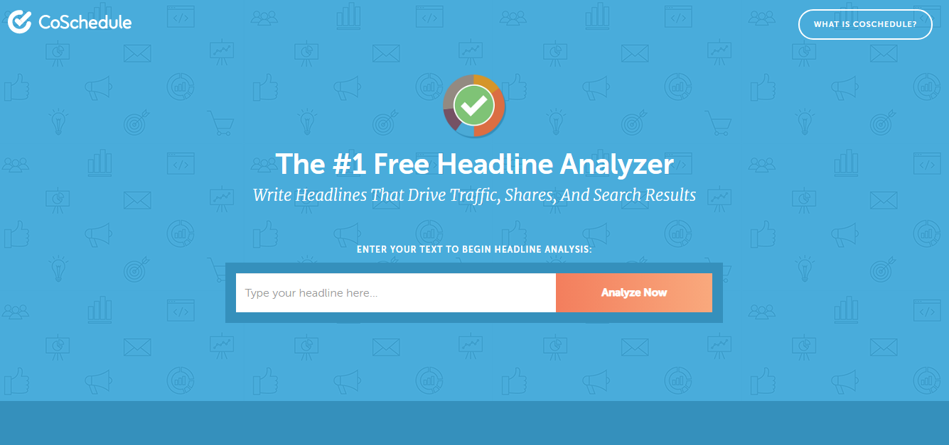 Coschedule - Headline Analyzer