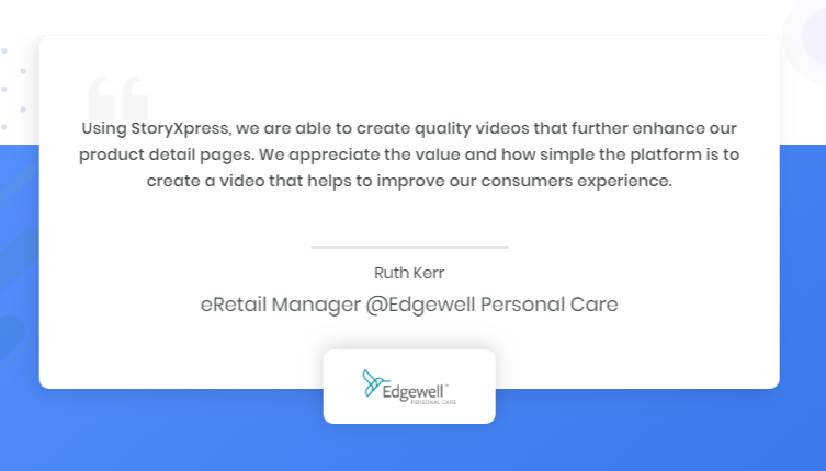 Ruth Kerr, eRetail Manager, Edgewell Personal Care