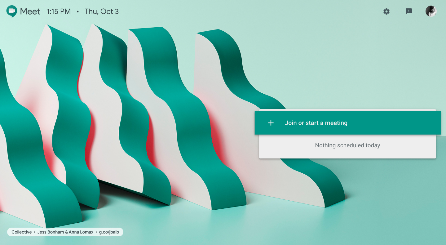 Google Meet- Host meetings live