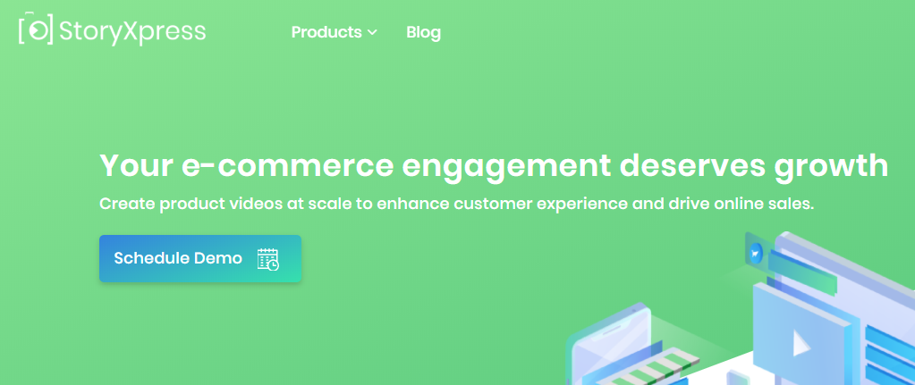 StoryXpress e-commerce product video maker