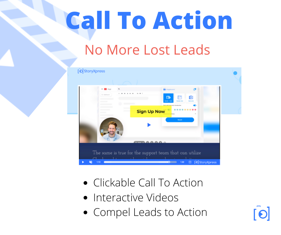 Video Call to action CTA