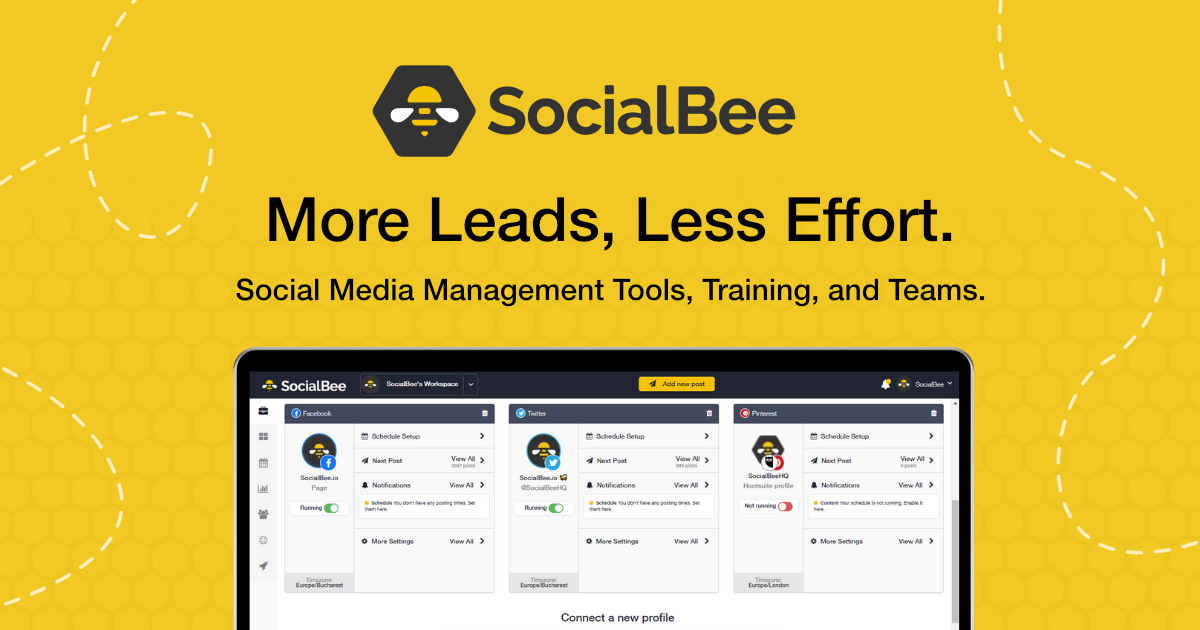 SocialBee-Banner
