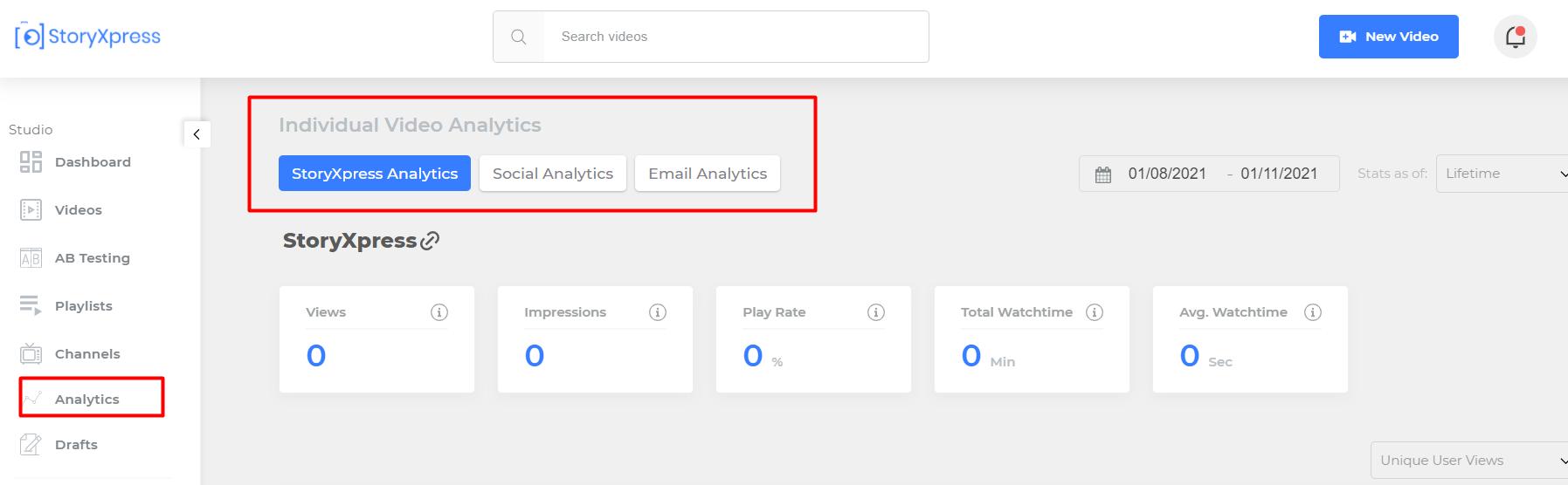 Tracking Video Analytics